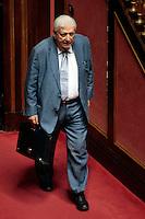 Sergio Zavoli<br /> Roma 04/09/2013 Prima seduta in Aula per i Senatori a vita appena nominati<br /> First session for the new appointed Senators for life. <br /> Photo Samantha Zucchi Insidefoto