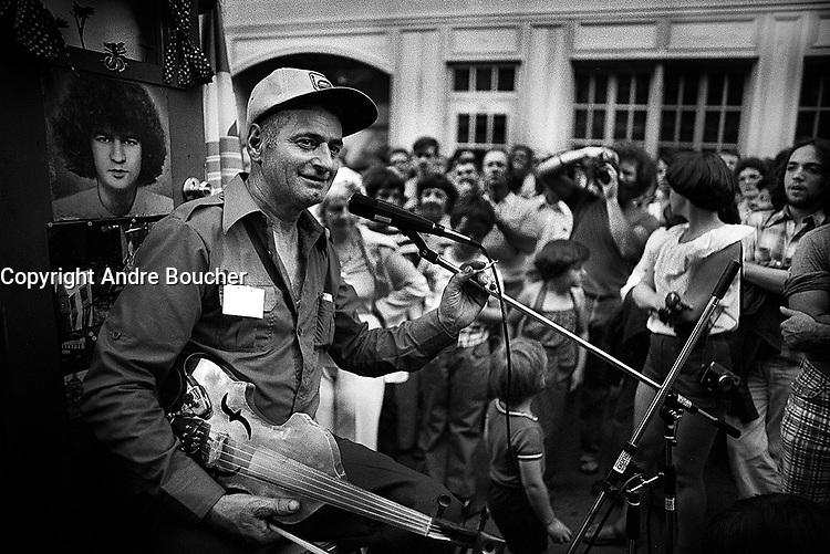 FILE PHOTO -  Philippe Gagnon en 1978<br /> <br /> PHOTO :  Andre Boucher - Agence quebec Presse<br /> <br /> HI RES Sur demande - aucune restriction