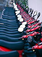 Rental mopeds, Bermuda