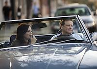 """Filmstill """"Arthur Newman"""" (2012)<br /> Director: Dante Ariola<br /> Stars: Colin Firth, Emily Blunt."""