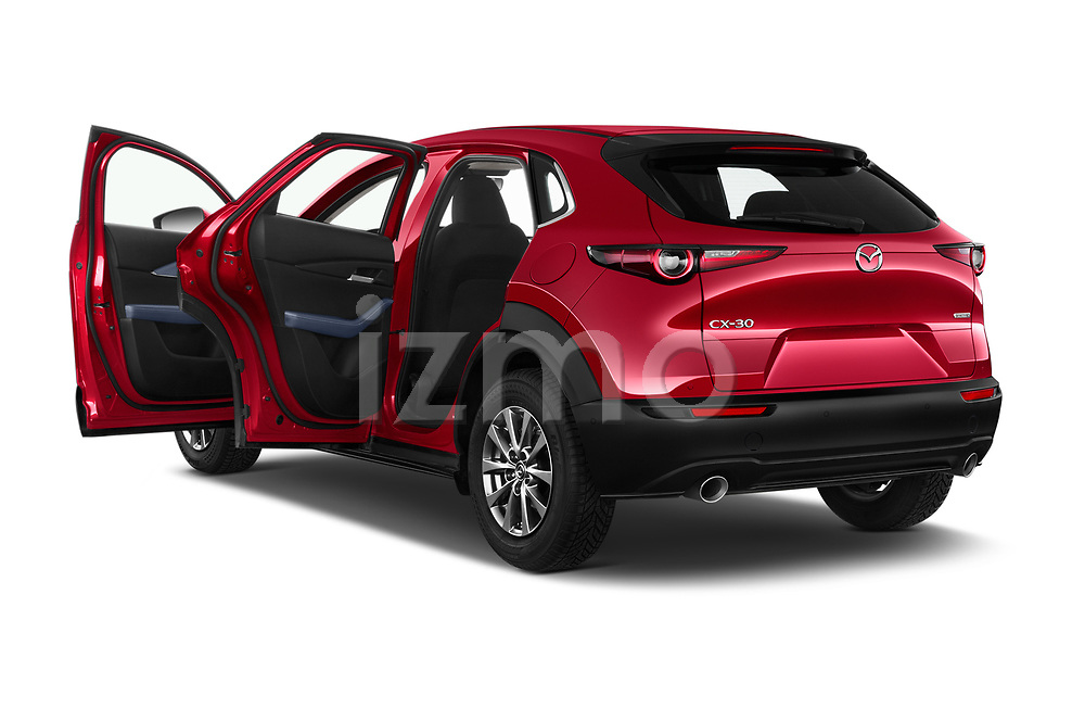 Car images close up view of a 2020 Mazda CX 30 Skydrive-Lux 5 Door SUV doors