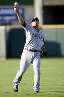 Tuiasosopo, Matt 3914.jpg.  PCL baseball featuring the Tacoma Rainers at Round Rock Express at Dell Diamond on August 5th 2009 in Round Rock, Texas. Photo by Andrew Woolley.
