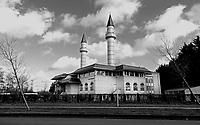 Nederland Zaandam- Jan. 2021.    De Sultan Ahmet Moskee. De Turkse moskee staat in de wijk Poelenburg . . Foto : ANP/ HH / Berlinda van Dam