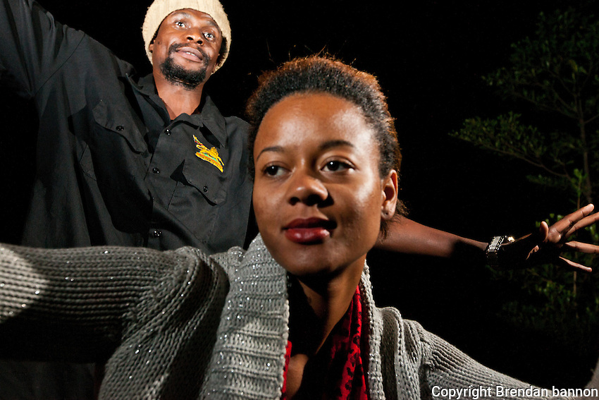 Sheila Bayley, 26, research coordinator for international aid agency and P.O.P. Hip-hop artist.