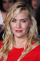 """WESTWOOD, LOS ANGELES, CA, USA - MARCH 18: Kate Winslet at the World Premiere Of Summit Entertainment's """"Divergent"""" held at the Regency Bruin Theatre on March 18, 2014 in Westwood, Los Angeles, California, United States. (Photo by David Acosta/Celebrity Monitor)"""
