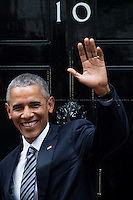 22.04.2016 - The President of the United States of America Barack Obama at 10 Downing St