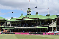 9th January 2021; Sydney Cricket Ground, Sydney, New South Wales, Australia; International Test Cricket, Third Test Day Three, Australia versus India; a general view of the members pavillion