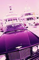 Europe/France/Provence-Alpes-Côtes d'Azur/06/Alpes-Maritimes/Cannes : Détail yachts et Bentley sur le port de Cannes