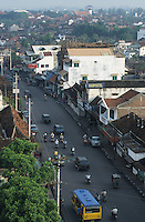 Indonesia, Jogyakarta, traffic and street life / Indonesien Java Jogyakarta Yogyakarta, Strassenverkehr