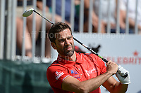 Tv personality Gethin Jones during The 2017 Celebrity Cup golf tournament at the Celtic Manor Resort, Newport, South Wales. 1.07.2017 <br /> <br /> <br /> Jeff Thomas Photography -  www.jaypics.photoshelter.com - <br /> e-mail swansea1001@hotmail.co.uk -<br /> Mob: 07837 386244 -