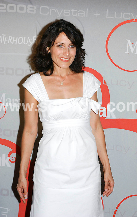 **ALL ROUND PICTURES FROM SOLARPIX.COM**.**SYNDICATION RIGHTS FOR UK, SPAIN, PORTUGAL, AUSTRALIA, S.AFRICA & DUBAI (U.A.E) ONLY**.arrivals for the 2008 Women In Film Crystal + Lucy Awards held at the Beverly Hilton Hotel, Beverly Hills, CA, USA. 17th June 2008..This pic: Lisa Edelstein..JOB REF: 6696 PHZ /GL    DATE: 17_06_2008.**MUST CREDIT SOLARPIX.COM OR DOUBLE FEE WILL BE CHARGED* *UNDER NO CIRCUMSTANCES IS THIS IMAGE TO BE REPRODUCED FOR ANY ONLINE EDITION WITHOUT PRIOR PERMISSION*