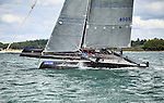 The GC32 is the one design for the Great Cup Racing circuit, Cowes Week 2013, Isle of Wight, England, United Kingdom.