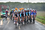 Team Sunweb on the front of the peloton during Paris-Tours 2020, running 213km from Chartres to Tours, France. 11th October 2020.<br /> Picture: ASO/Gautier Demouveaux | Cyclefile<br /> All photos usage must carry mandatory copyright credit (© Cyclefile | ASO/Gautier Demouveaux)