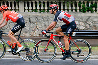 29th August 2020, Nice, France;  GILBERT Philippe (BEL) of LOTTO SOUDAL during stage 1 of the 107th edition of the 2020 Tour de France cycling race, a stage of 156 kms with start in Nice Moyen Pays and finish in Nice