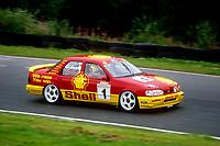 Round 9 of the 1991 British Touring Car Championship. #1 Robb Gravett (GBR). Trakstar Motorsport. Ford Sierra Sapphire.