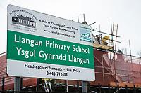 2019 10 31 General view of to Llangan Primary School, near Cowbridge, Vale of Glamorgan, Wales, UK