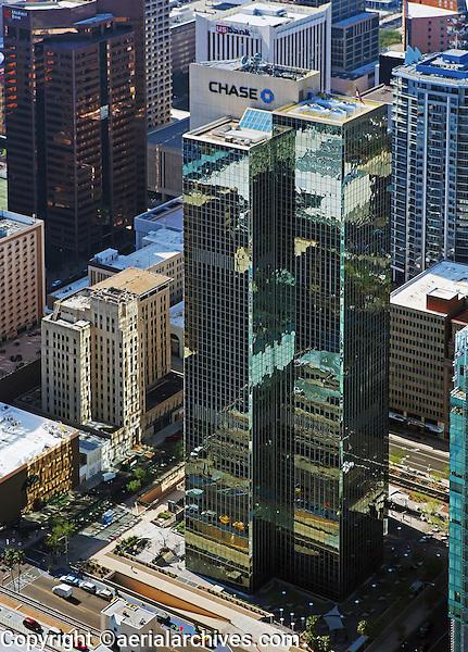 aerial photograph of Chase Tower, Phoenix, Arizona