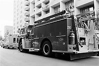 camion de  Pompiers au Quebec , Juin 1986