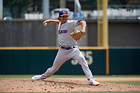 Midland RockHounds pitcher Joel Seddon (12) during a Texas League game against the Frisco RoughRiders on May 21, 2019 at Dr Pepper Ballpark in Frisco, Texas.  (Mike Augustin/Four Seam Images)