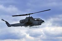 - Amphibious assault ship USS Wasp, Sea Cobra combat helicopter<br /> <br /> - Nave da assalto anfibio USS Wasp, elicottero da combattimento Sea Cobra