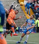 19.05.2019 Kilmarnock v Rangers: Alfredo Morelos and Jamie MacDonald