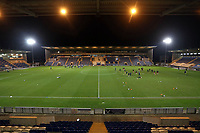 General view of the ground during Colchester United vs Crawley Town, Sky Bet EFL League 2 Football at the JobServe Community Stadium on 1st December 2020