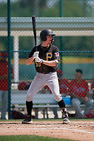 Pittsburgh Pirates Mike Gretler (50) during a minor league Spring Training game against the Philadelphia Phillies on March 13, 2019 at Pirate City in Bradenton, Florida.  (Mike Janes/Four Seam Images)