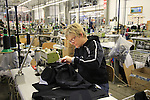 Ladies sewing on the factory floor, Santini Factory, Lallio, Italy. 30th September 2015.<br /> Picture: Eoin Clarke | Newsfile