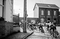 cobbled corner<br /> <br /> 60th E3 Harelbeke (1.UWT)<br /> 1day race: Harelbeke › Harelbeke - BEL (206km)