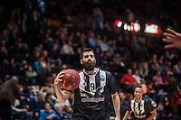 VALENCIA, SPAIN - JANUARY 6: Apollon Tsochlas during EUROCUP match between Valencia Basket and PAOK Thessaloniki at Fonteta Stadium on January 6, 2015 in Valencia, Spain