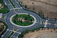 aerial photograph roundabout Reno, Nevada
