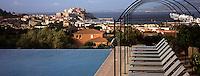 """Europe/France/Corse/2B/Haute-Corse/Balagne/Calvi: La piscine de l'hôtel """"La Villa"""""""