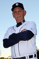 Feb 21, 2009; Lakeland, FL, USA; The Detroit Tigers manager Jim Leyland (10) during photoday at Tigertown. Mandatory Credit: Tomasso De Rosa/ Four Seam Images