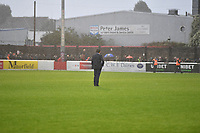 Dagenham & Redbridge Manager Daryl McMahon during Dagenham & Redbridge vs Altrincham, Vanarama National League Football at the Chigwell Construction Stadium on 2nd October 2021
