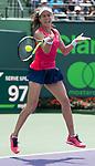 April 1 2017: Johanna Konta (GBR) defeats Caroline Wozniacki (DEN) by 6-4, 6-3, at the Miami Open being played at Crandon Park Tennis Center in Miami, Key Biscayne, Florida. ©Karla Kinne/Tennisclix/Cal Sports Media