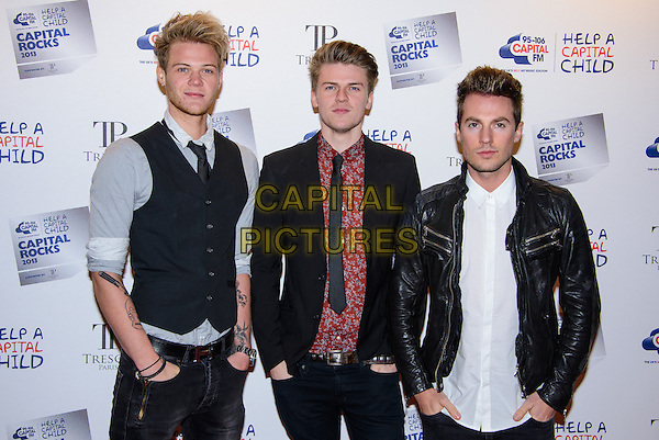LONDON, ENGLAND - NOVEMBER 28: Lawson attend the annual 'Capital Rocks' concert in aid of the 'Help a Capital child' charity at The Roundhouse on November 28, 2013 in London, England. <br /> CAP/CJ<br /> ©Chris Joseph/Capital Pictures