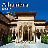 Photos of the Alhambra Palace in Granada