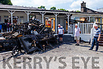 Mike O Brien, John O Sullivan, & John Morgan O Sullivan at Kenmare Golf Club which was badly burned in a fire on Sunday night.