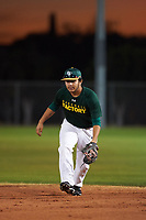 Daniel Ureste (52), from Merced, California, while playing for the Athletics during the Under Armour Baseball Factory Recruiting Classic at Gene Autry Park on December 27, 2017 in Mesa, Arizona. (Zachary Lucy/Four Seam Images)