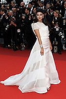 """FRA: """"THE BFG"""" Red Carpet- The 69th Annual Cannes Film Festival - Ola Al-Fares attend """"THE BFG"""". Red Carpet during The 69th Annual Cannes Film Festival on May 14, 2016 in Cannes, France."""