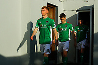 Alec Byrne, Cian Bargary and Cian Murphy of Cork City before the game.<br /> <br /> Cobh Ramblers v Cork City, SSE Airtricity League Division 1, 28/5/21, St. Colman's Park, Cobh.<br /> <br /> Copyright Steve Alfred 2021.