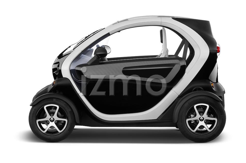 Driver side profile view of a 2012 - 2014 Renault Twizy Technic 80 Micro Car.