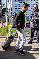 Spainsh Thiago Alcantara arriving at the concentration of the spanish national football team in the city of football of Las Rozas in Madrid, Spain. November 08, 2016. (ALTERPHOTOS/Rodrigo Jimenez) ///NORTEPHOTO.COM
