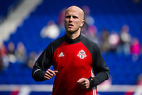 HARRISON, NJ - Sunday March 6, 2016: The New York Red Bulls take on Toronto FC in their home opener at home at Red Bull Arena in regular season MLS play.