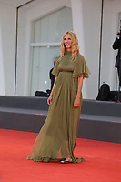 """VENICE, ITALY - SEPTEMBER 10: Sandrine Kiberlain on the red carpet for the movie """"Un Autre Monde"""" during the 78th Venice International Film Festival on September 10, 2021 in Venice, Italy.<br /> CAP/GOL<br /> ©GOL/Capital Pictures"""