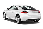 Car pictures of rear three quarter view of 2018 Audi TT-Coupe  2.0T-quattro-S-tronic 2 Door Coupe angular rear