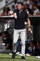 Thiago Motta coach of Spezia Calcio reacts during the Serie A football match between Spezia Calcio and AC Milan at Alberto Picco stadium in La Spezia (Italy), September 25th, 2021. Photo Image Sport / Insidefoto