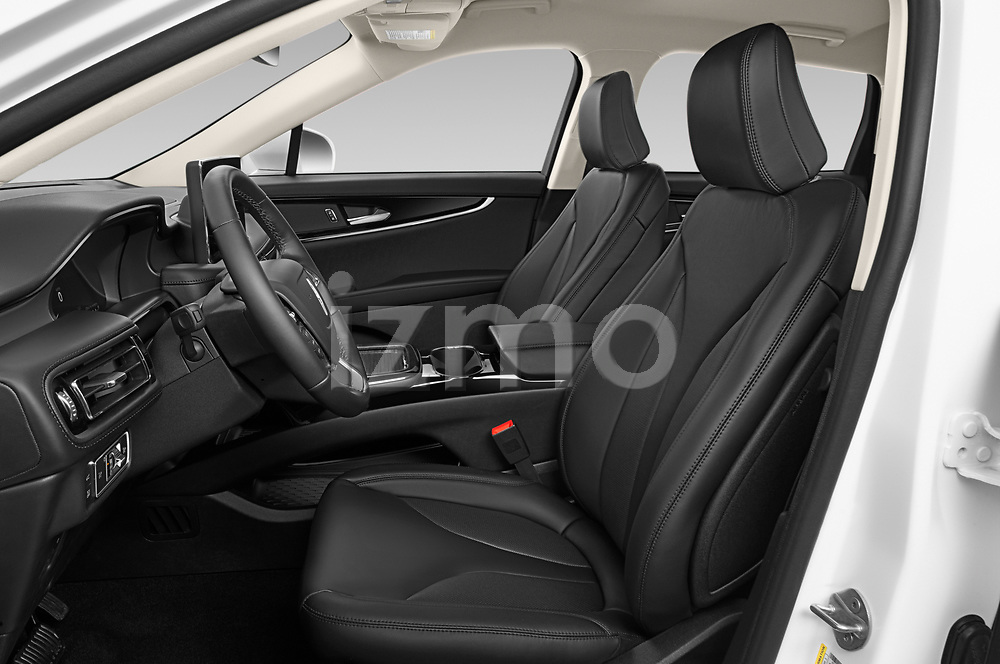 Front seat view of 2021 Lincoln Nautilus Standard 5 Door SUV Front Seat  car photos