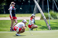 Lydia Ko of New Zealand in act during day 4 of HSBC Women's World Championship 2018 at Sentosa Golf Club, Sentosa,, Singapore, on 4  March 2018, Singapore.  Photo by : Ike Li / Prezz Images