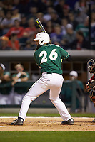 Derek Fritz (26) of the Charlotte 49ers at bat against the Georgia Bulldogs at BB&T Ballpark on March 8, 2016 in Charlotte, North Carolina. The 49ers defeated the Bulldogs 15-4. (Brian Westerholt/Four Seam Images)
